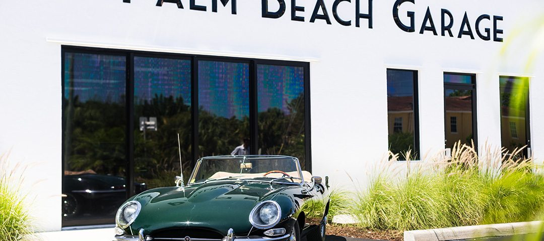 Palm Beach Garage jaguar
