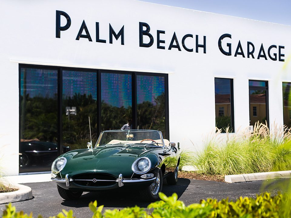 Palm Beach Garage jaguar