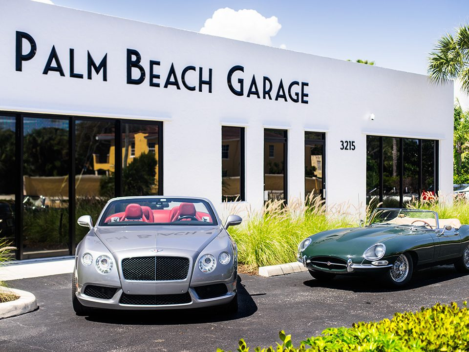 Palm Beach Garage front