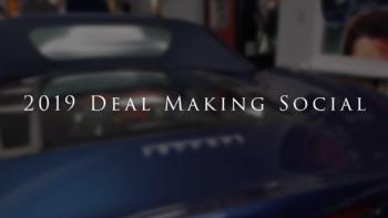 Deal Making Social Palm Beach Florida Palm Beach Garage